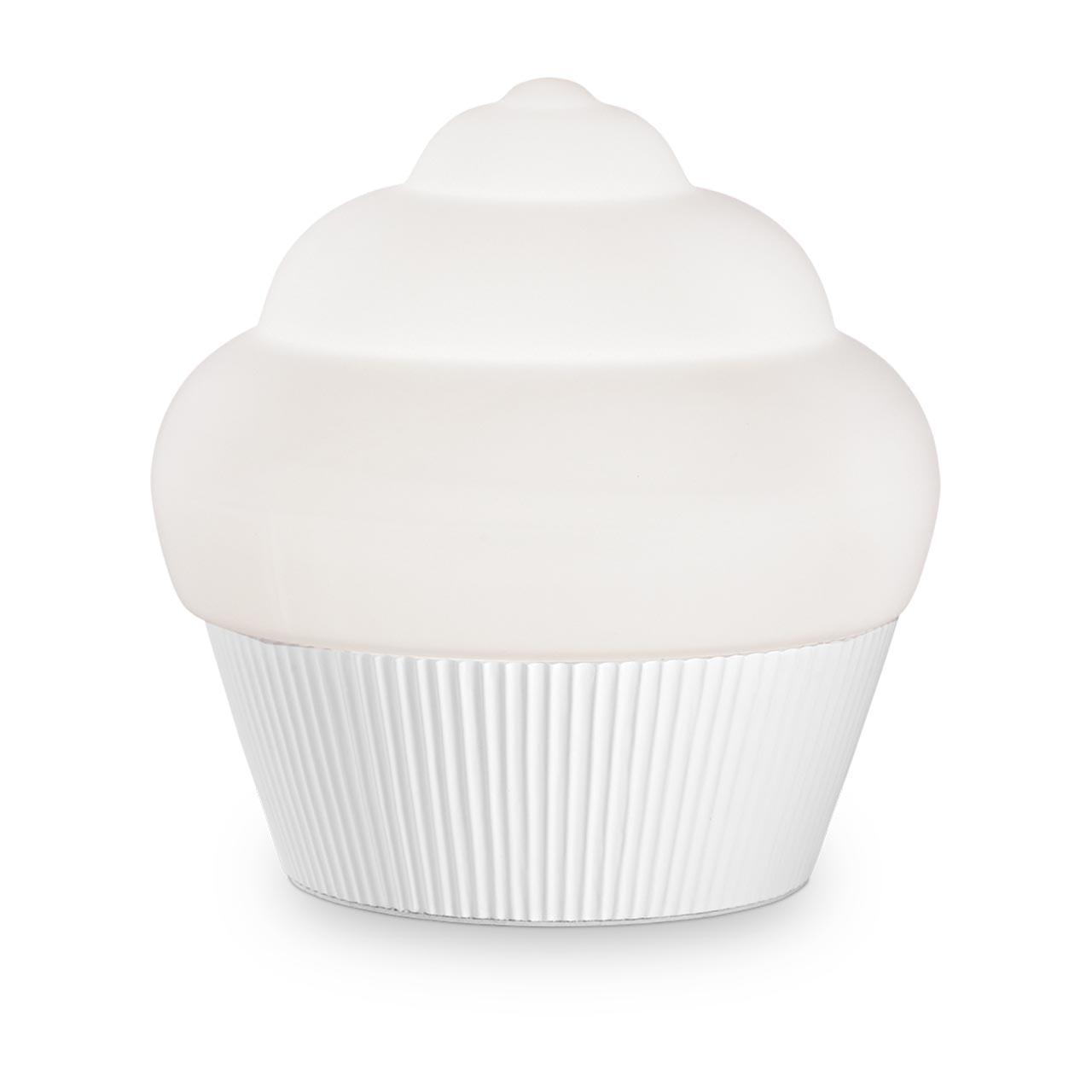 Настольная лампа Ideal Lux Cupcake TL1 Small Bianco