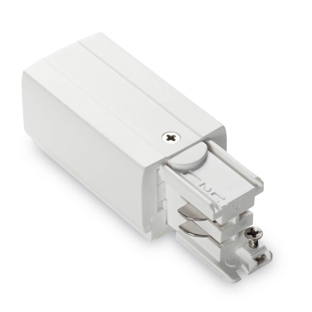 Питание левый Ideal Lux Link Trimless Mains Connector Left White