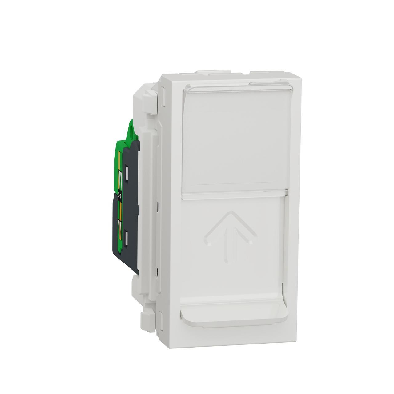 Розетка компьютерная RJ45 Schneider Electric Unica Modular Cat. 5e STP NU341218